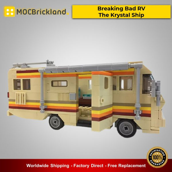 Technic MOC-17836 Breaking Bad RV - The Krystal Ship By MOMAtteo79 MOCBRICKLAND