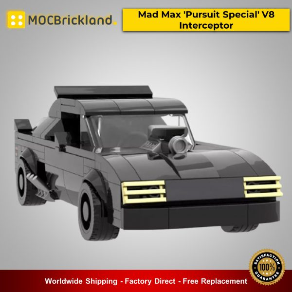 Movie MOC-21806 Mad Max 'Pursuit Special' V8 Interceptor By mkibs MOCBRICKLAND