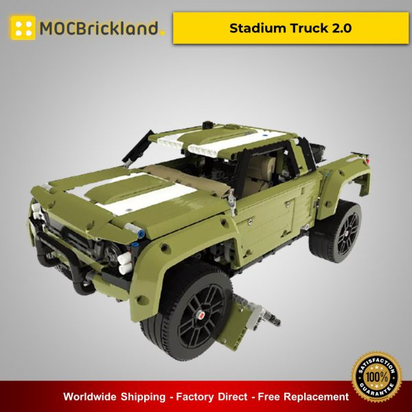 Technic MOC-36089 Stadium Truck 2.0 By grohl MOCBRICKLAND
