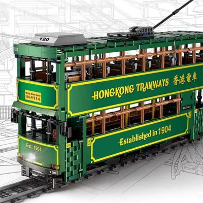 MOULDKING KB120 Hong Kong Tramways 2 LEPIN™ Land Shop