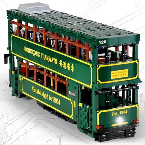 MOULDKING KB120 Hong Kong Tramways 3 LEPIN™ Land Shop