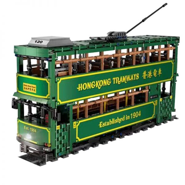 MOULDKING KB120 Hong Kong Tramways 5 LEPIN™ Land Shop