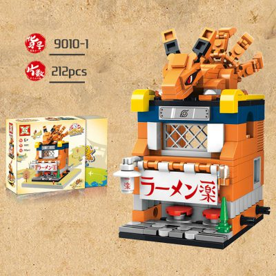 SX 9010 Retail Store 4 In1 Japan Anime Naruto 2 LEPIN™ Land Shop