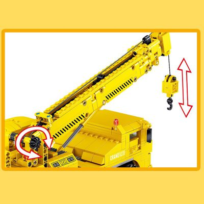 ZHEGAO QL0238 Engineering Crane Construction Vehicle 4 LEPIN™ Land Shop